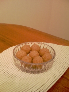 Sweet Potato Oat Bran Cookie Balls